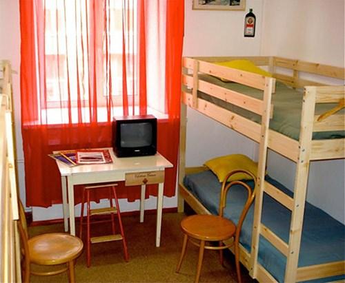 6-местный номер в хостеле Распутин, Санкт-Петербург