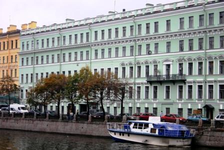 Antonio House, здание на Фонтанке.