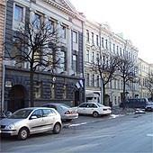 Vladimirsky Lodging. Здание на Лиговском проспекте в Петербурге