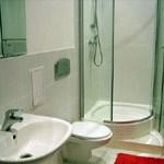 Ванная комната питерской гостиницы Владимирский Лоджинг