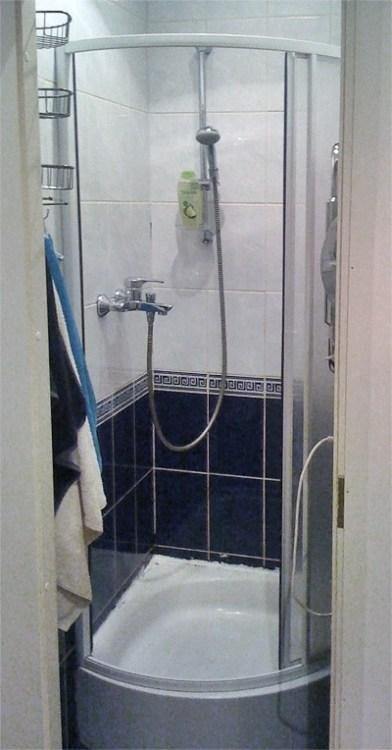Ванная комната в хостеле В Центре в Санкт-Петербурге