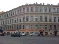Здание, в котором расположен хостел В Центре