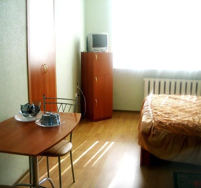 Одноместный номер в гостинице СПБКиУ, Санкт-Петербург