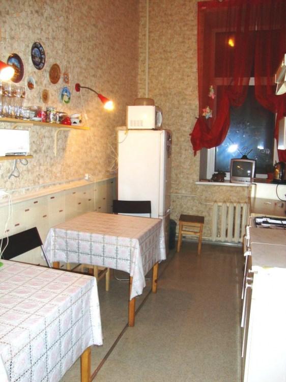 Кухня. Хостел Красный коврик. Санкт-Петербург