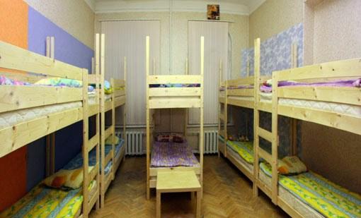 10-местный номер в хостеле Красный Медведь (Red Medved), Санкт-Петербург