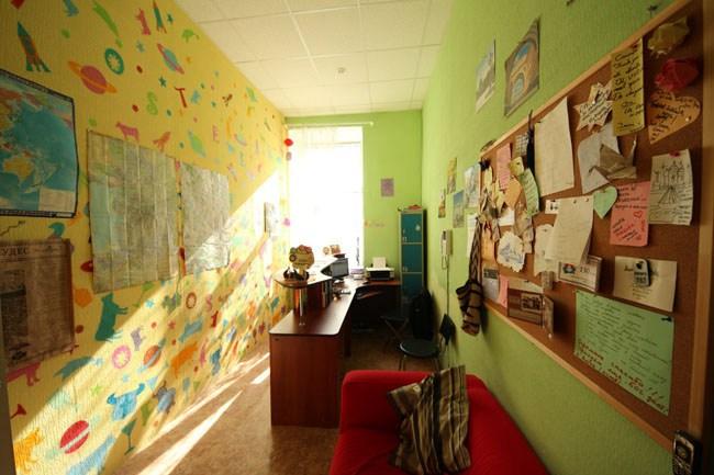 Хостел Alpha Hostel в Санкт-Петербурге, ресепшн