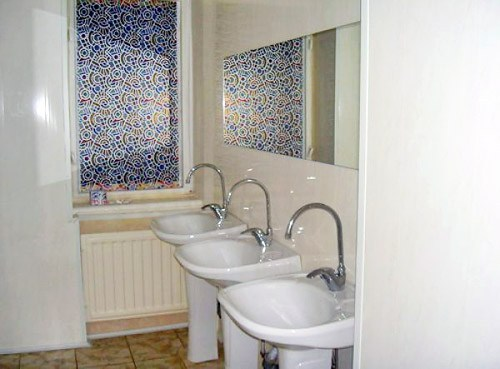 Ванная комната. Хостел Меншиковский, Санкт-Петербург