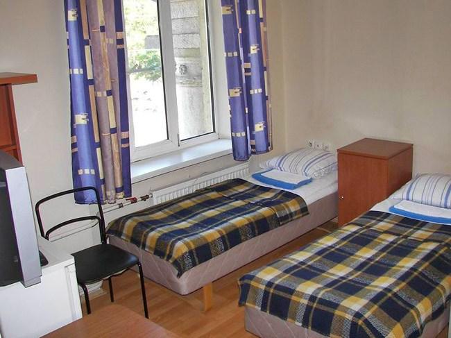 Двухместный номер TWIN в гостинице Метротур в Санкт-Петербурге