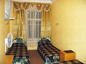 3-местный номер в хостеле на Фонтанке в Санкт-Петербурге