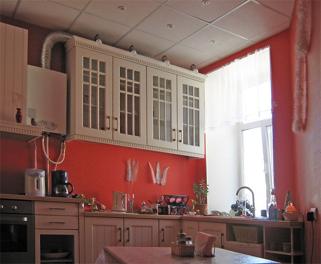 Кухня гостиницы Невский 5, Санкт-Петербург
