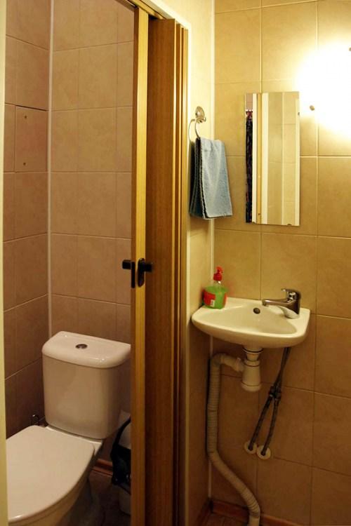 Ванная комната хостела норд в Санкт-Петербурге