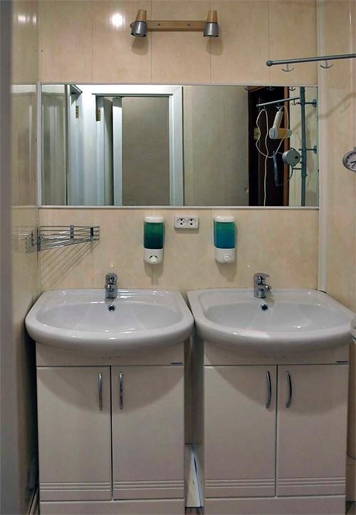 Ванная комната в хостел Nord Hostel, Санкт-Петербург