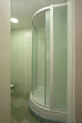 Ванная комната хостела Островок, Санкт-Петербург