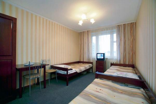 3-местный номер в хостеле Островок в Санкт-Петербурге