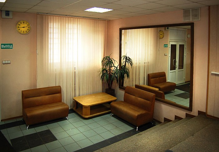 Интерьер гостиницы Питер Хостел в Санкт-Петербурге