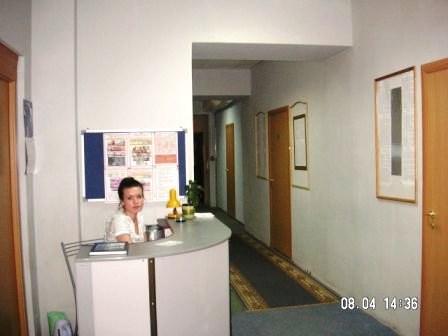 Стойка администратора. Гостиница Пифагор Центр, Санкт-Петербург