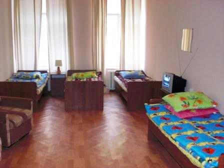 4-местный номер в хостеле Пифагор на Невском, Санкт-Петербург