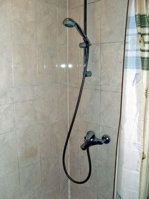 Ванная комната в гостинице Виктория, Санкт-Петербург