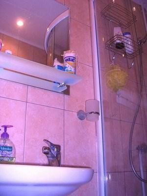 Ванная комната в гостинице Сабрина Эконом, Санкт-Петербург