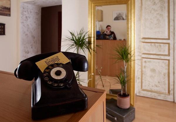 Интерьер мини-отеля Старый Петербург