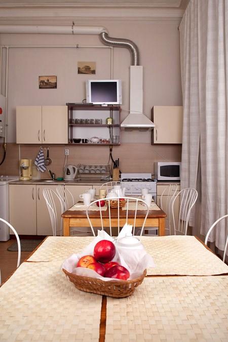 Кухня в отеле Старый Петербург