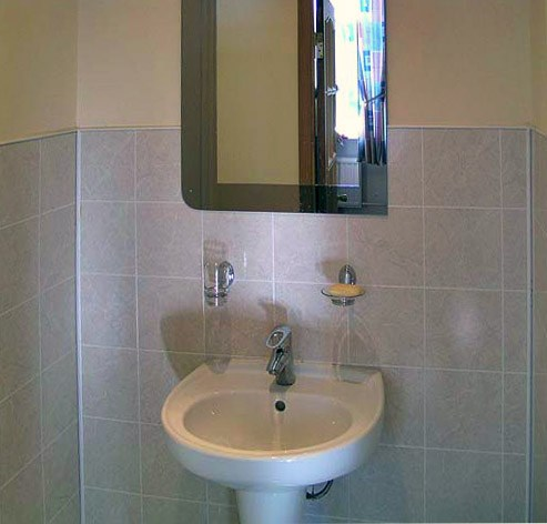 Ванная комната в гостинице У Фонтана, Санкт-Петербург