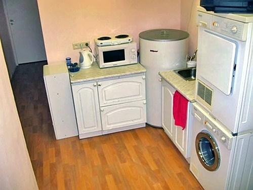 Кухня. Хостел Zimmer Nice. Санкт-Петербург