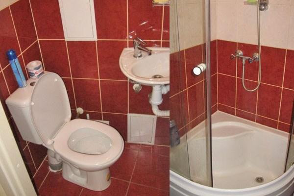 Ванная комната хостел Циммер Смарт (Zimmer Smart), Петербурге
