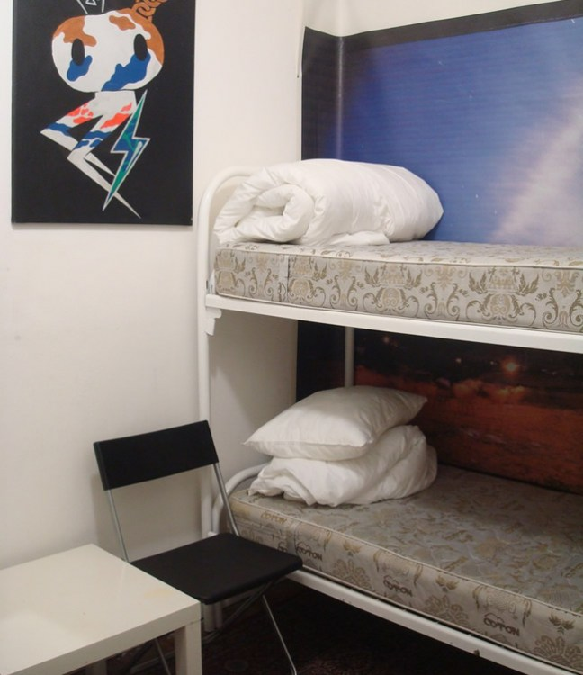 """Location Hostel Лиговский 74, 2-х местная комната """"Ваниль"""""""