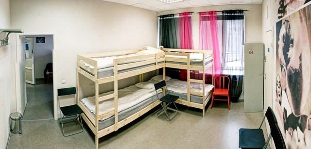 """Location Hostel Лиговский 74, 4-местная комната """"Сода"""""""