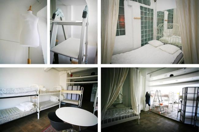 """Комната """"Бисквитный цех"""".  12-местная комната с двуспальной кроватью."""