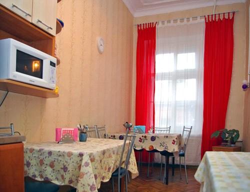 Кухня хостела Арина на Восстания, Санкт-Петербург