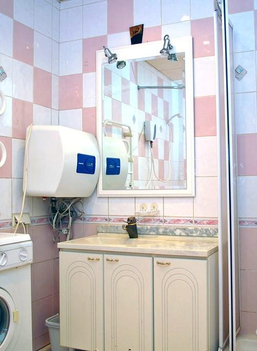 Ванная комната в гостинице Юлана в центре Петербурга