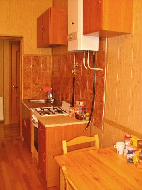 Кухня хостела Юлана на Невском, Санкт-Петербург