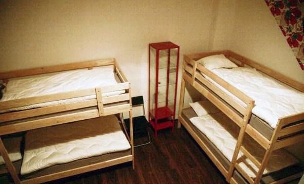 Четырехместный номер в гостинице Иволга, Санкт-Петербург
