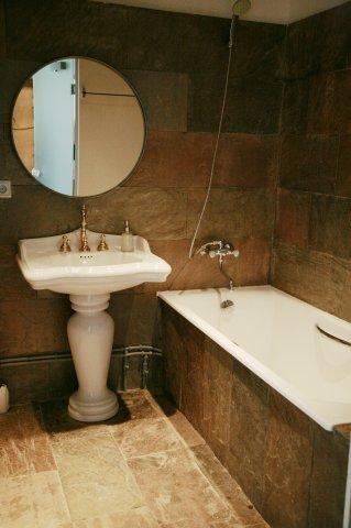 Ванная комната, гостиница Иволга, Санкт-Петербург