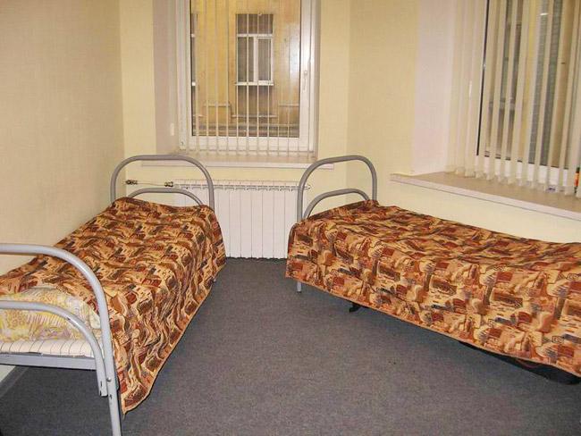 Двухместный номер в гостинице Eurohostel на Рубинштейна, Санкт-Петербург