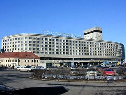 Гостиница Москва в Санкт-Петербурге