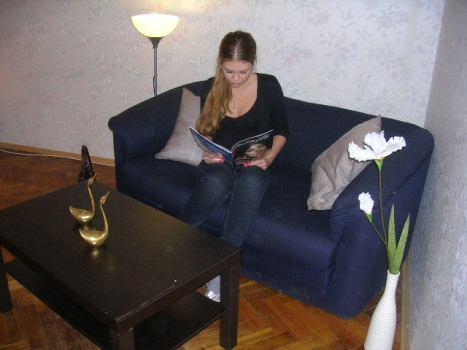 Интерьер гостиницы Fancy Place в Петербурге