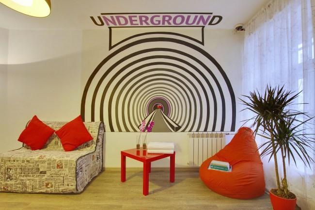 Фотография новости Скидки в хостеле Underground Hostel
