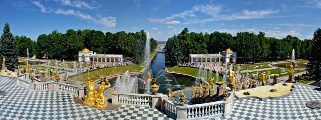 Фотография новости Открытие фонтанов в Петергофе в мае 2015, Санкт-Петербург